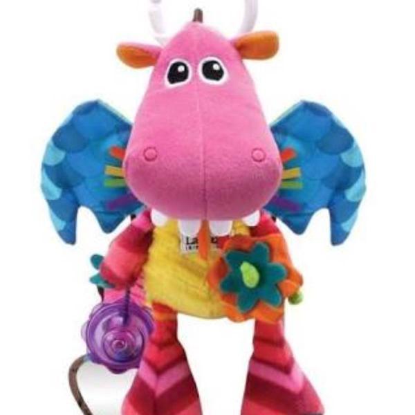 Móbile para berço ou carrinho de dinossauro pink