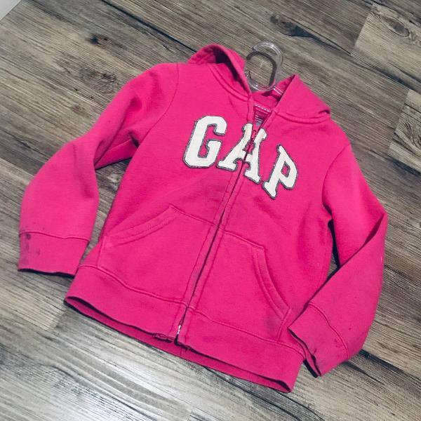 Moletom gap infantil rosa