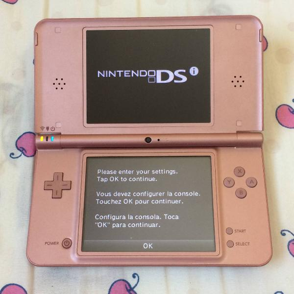 Nintendo ds xl rosa