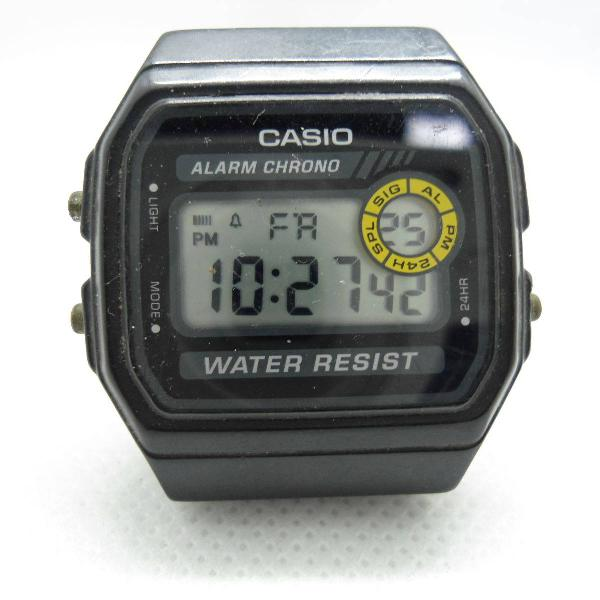 relógio casio usado mais bem conservado funcionando