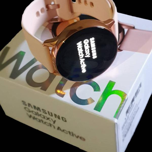 Relógio samsung galaxy watch active