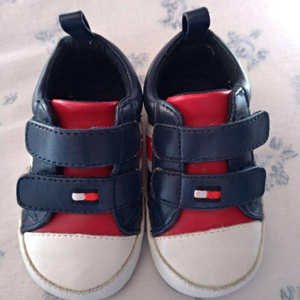 Sapato bebê importado tommy hillfinger