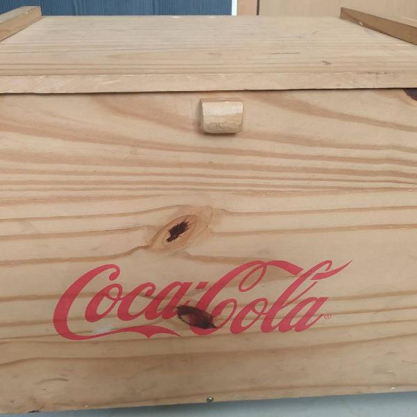Caixa de madeira | oxford & coca cola