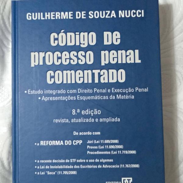 Código de processo penal comentado - 8 edição