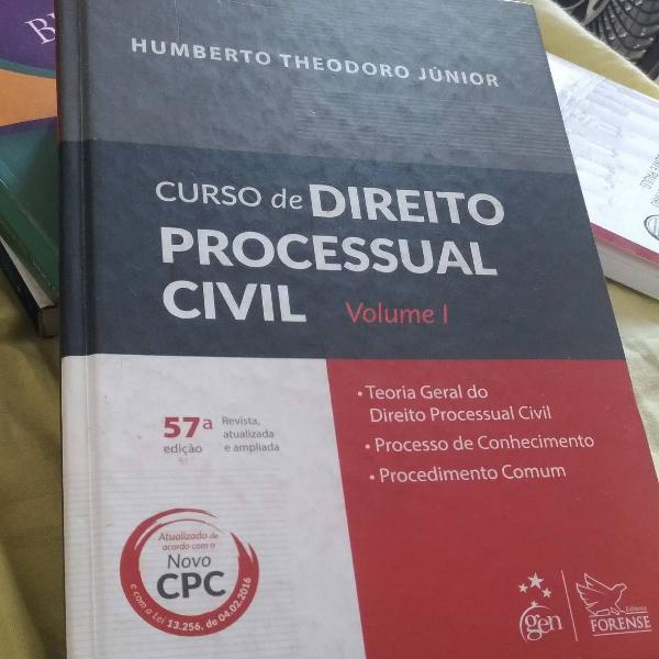 Curso de direito processual civil 2016