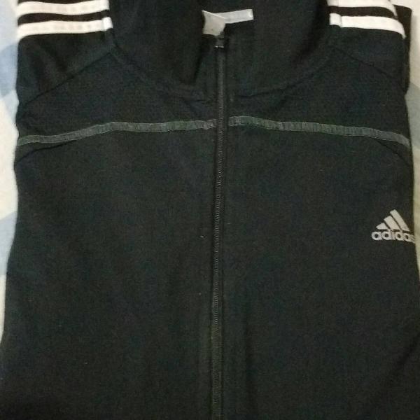 Jaqueta/blusa de frio adidas - preta gg