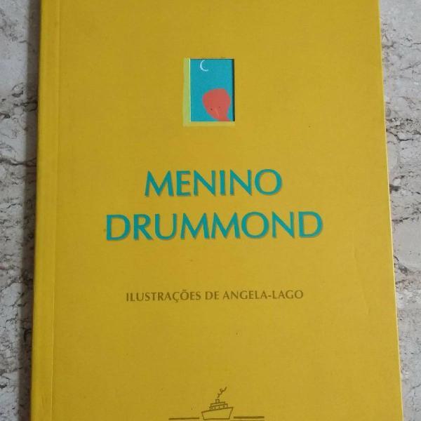 """Kit 2 livros: """"o pequeno príncipe"""" e """"menino drummond"""""""