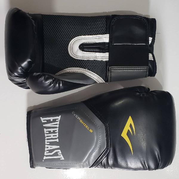 Luva boxe everlast 12 ox pro style elite +