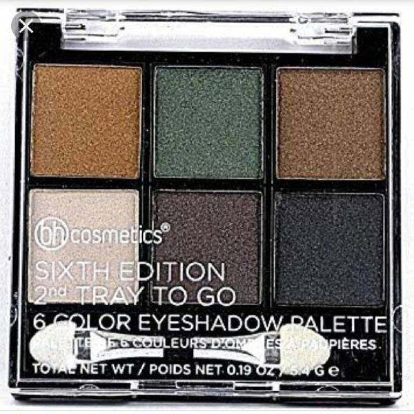 Paleta de sombras importada bh cosmetics