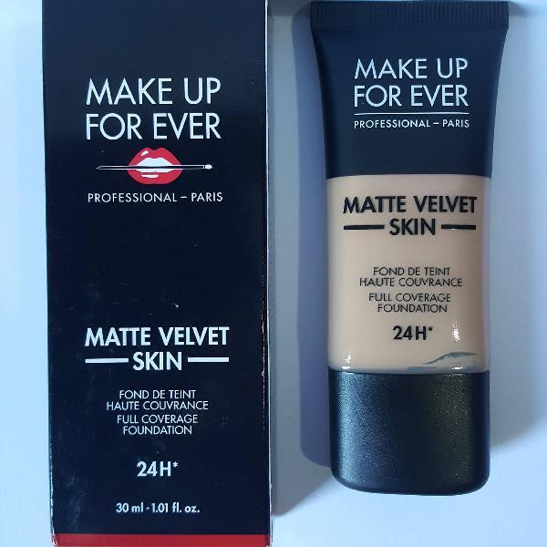 Base make up for ever matte velvet skin y365