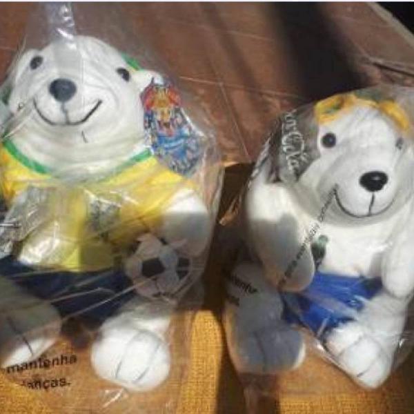 Bichinhos urso polar da coca cola