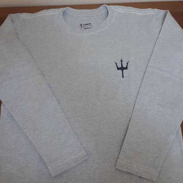 Camiseta osklen manga longa