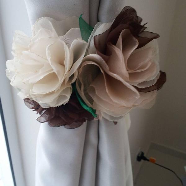 Charme e romantismo para sua cortina