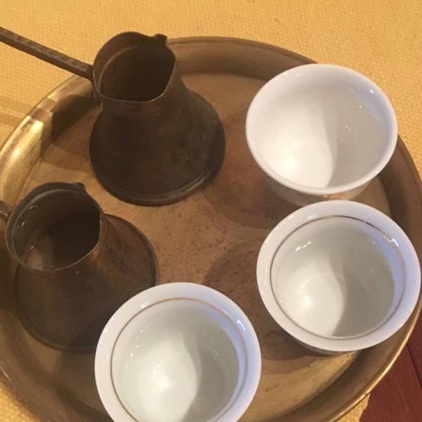 Jogo para tomar café turco vintage