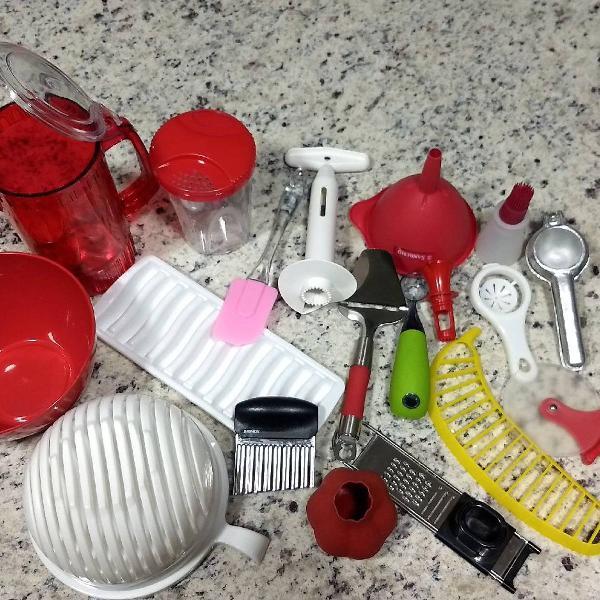 Kit de utensílios/utilidades para cozinha