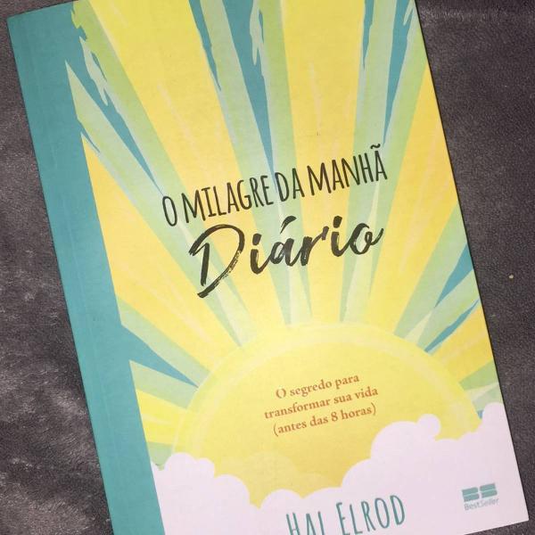 Livro o milagre da manha diário