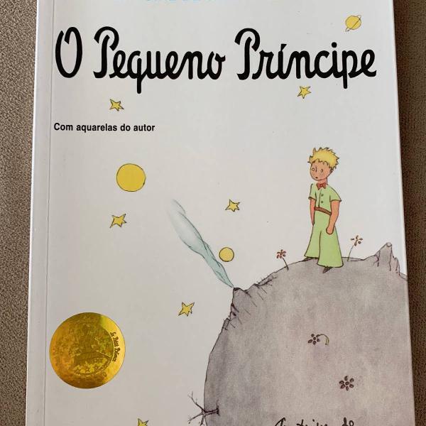 Livro: o pequeno príncipe