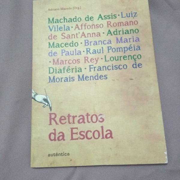 Livro retratos da escola