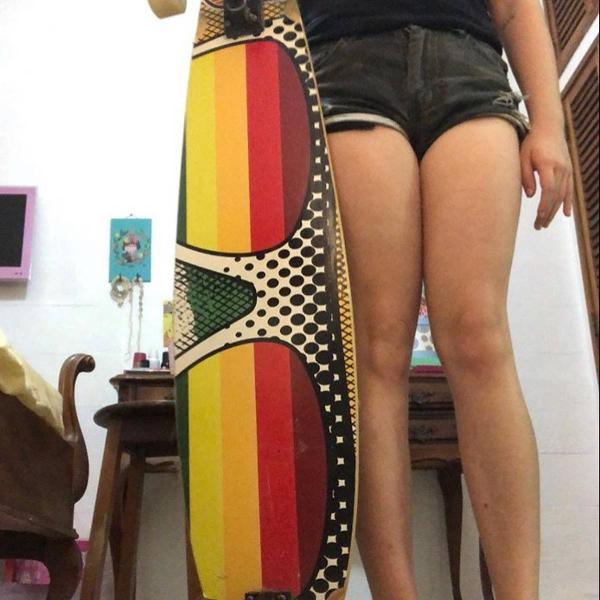 Longboard flying skateboards