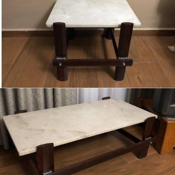 Mesa de centro + mesa de canto
