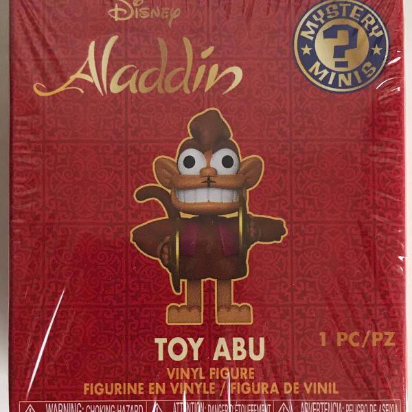 mystery mini - toy abu - aladdin - disney - funko - vinyl