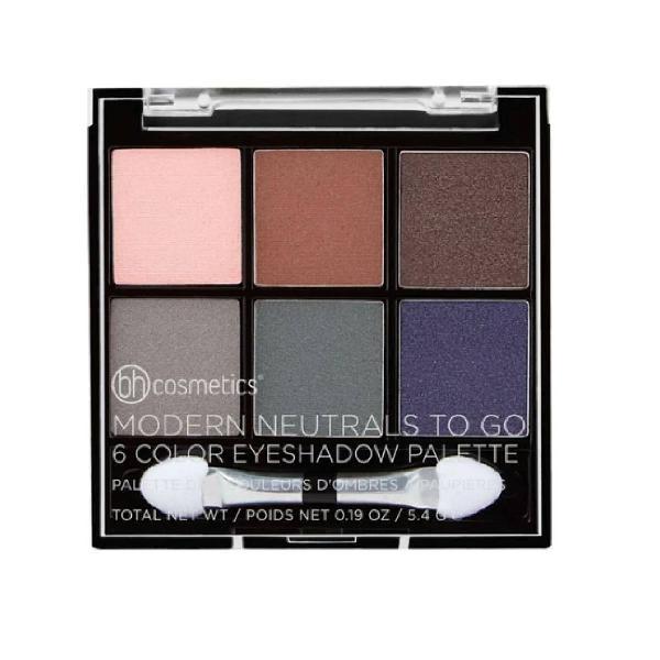 Paleta de sombras importada bh cosmetics cores neutras