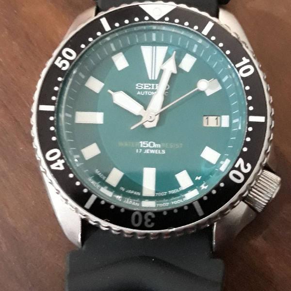 Relógio seiko scuba diver