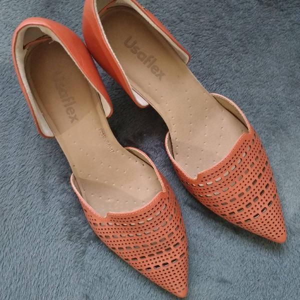 Sapato bico fino outono