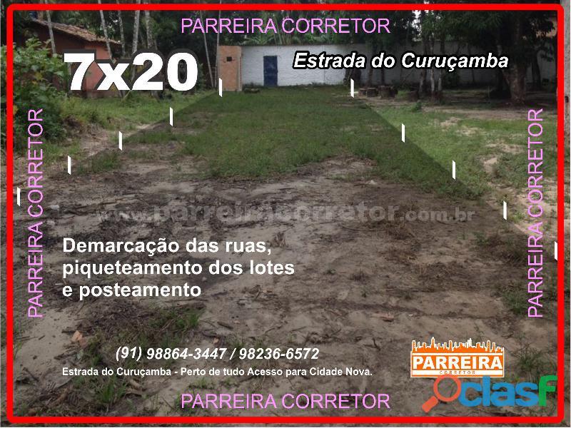 Terrenos 9x20 em ananindeua, lotes e terrenos, loteamento fechado piscina e area de lazer