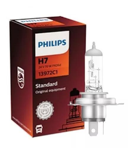 10 lampadas philips h7 24v 70w caminhão onibus preço