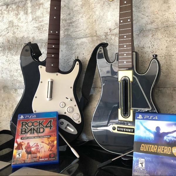 2 guitars mais 2 jogos