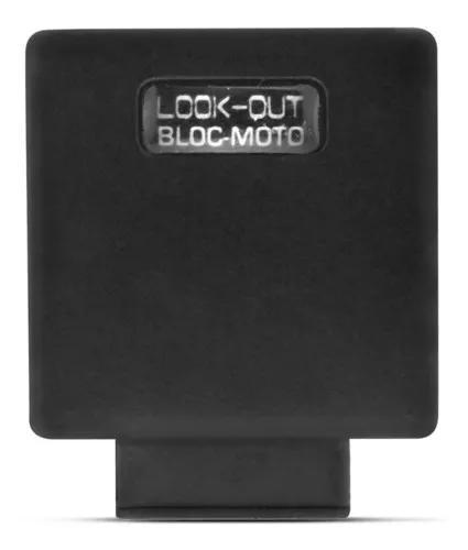 Alarme bloqueador resgate corta corrente para motos selado