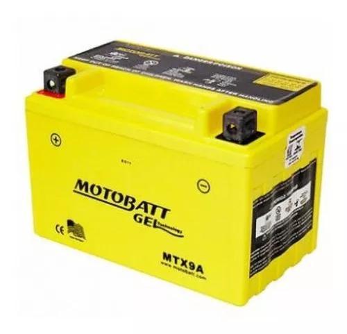 Bateria gel motobatt 9 ah 140cca mtx9a cb500/cb600/xtz660/g