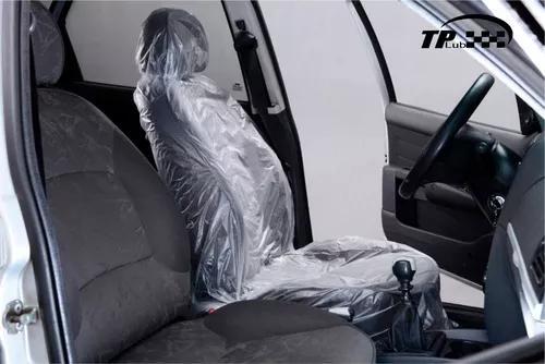 Bobina capa plastica descartável p/ banco carro