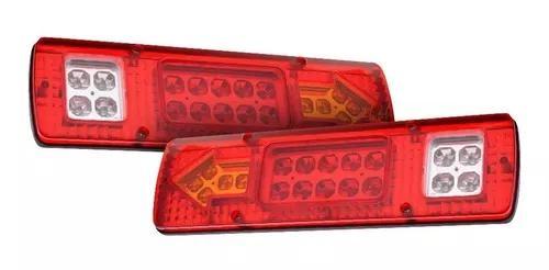 Caminhao ford 2429 2628 2631 luz lanterna led sinaleira 30cm