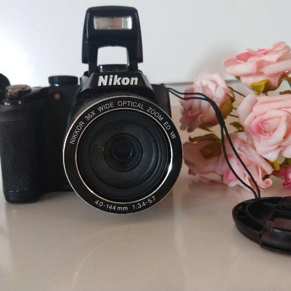 Câmera semi profissional nikon p500