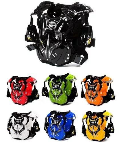 Colete de proteção peitoral pro tork 788 motocross trilha