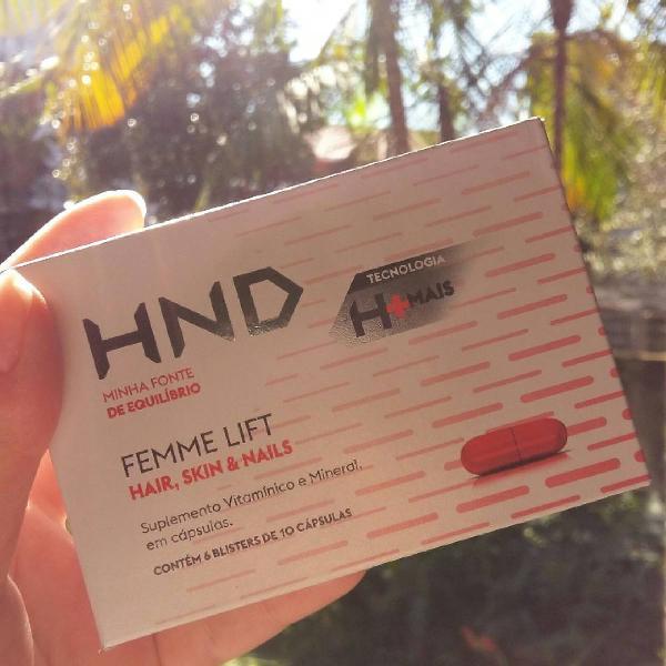 Femme lift hair. skin. nails