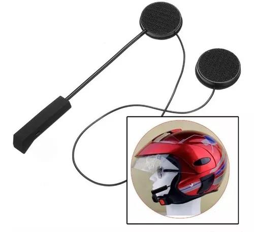 Fone de ouvido bluetooth capacete moto viva voz s