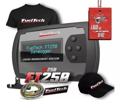 Fueltech ft250 3 metros +ultra brindes+ 12x s/juros