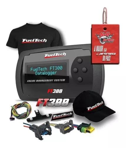 Fueltech ft300 3 metros +ultra brindes+ 12x s/juros+ 9 conec