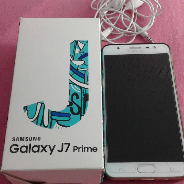 Galaxy j7 prime duos samsung g610m/ds 32gb dourado
