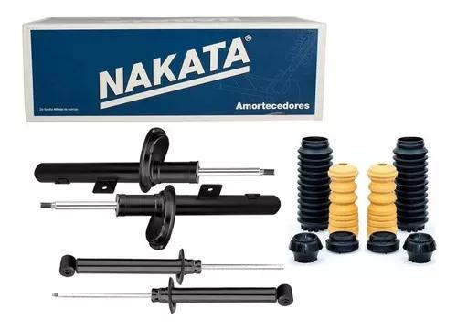 Kit 4 amortecedor nakata + kits bat brinde gol voyage g5 g6