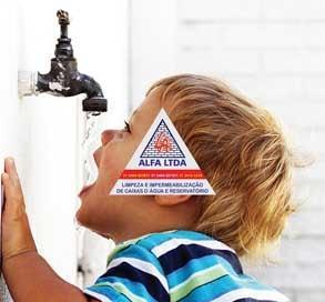 Limpeza impermeabilizacao, desinfecção caixas e