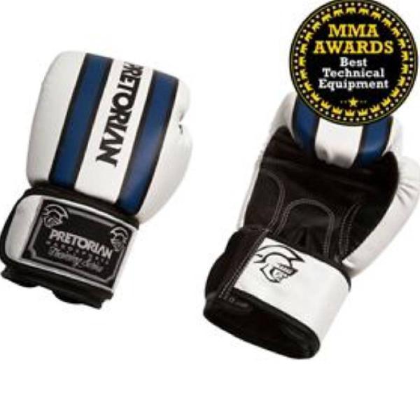 Luva de boxe pretorian training - azul/preta/branca