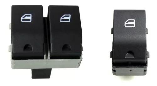Par botao vidro elétrico gol g4 g5 g6 fox duplo e simples