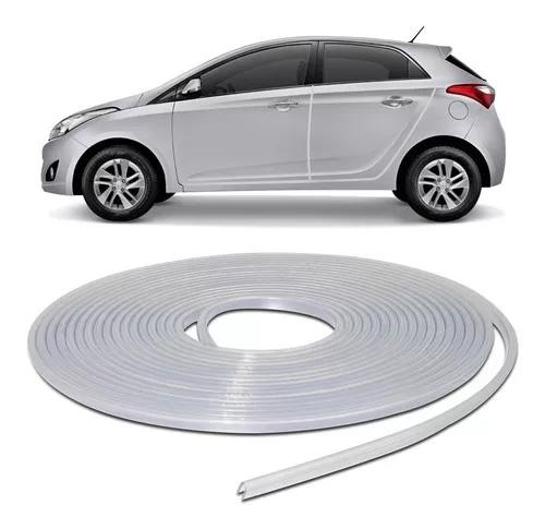 Protetor de bordas portas carro universal 10 metros incolor