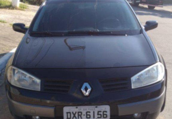 Renault megane sedan dynamique 1.6 16v flex 2008