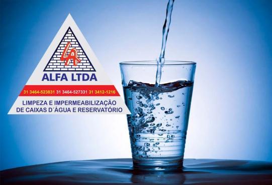 Serviços reservatórios d'água da alfa