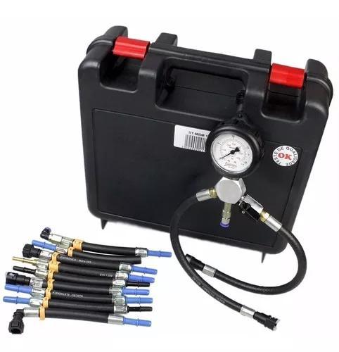 Teste de vazão e pressão bomba de combustível p motos